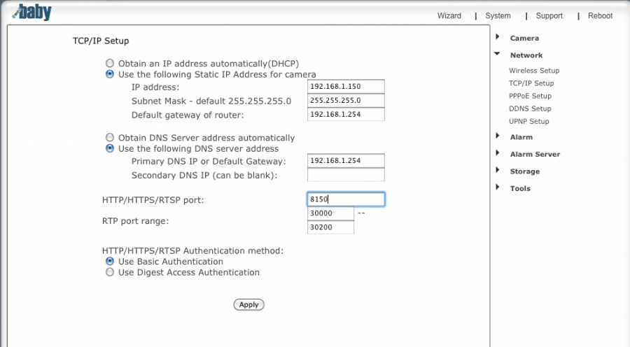 ATT Uverse Router Static IP Setup - Example