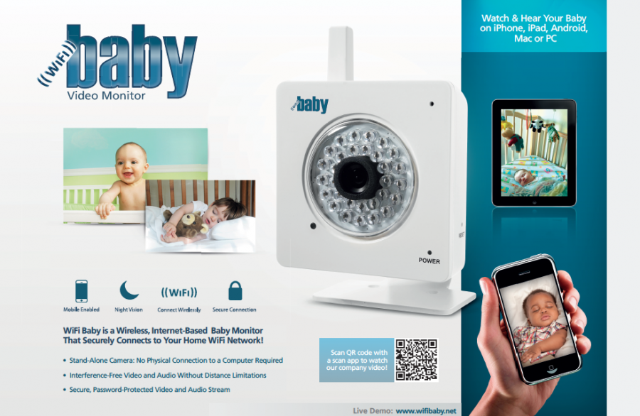 WiFi Baby - Retail Packaging Front