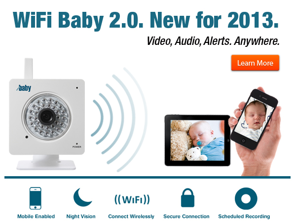 WiFi Network Baby Monitor - Buy iPhone iPad Android Baby Monitor