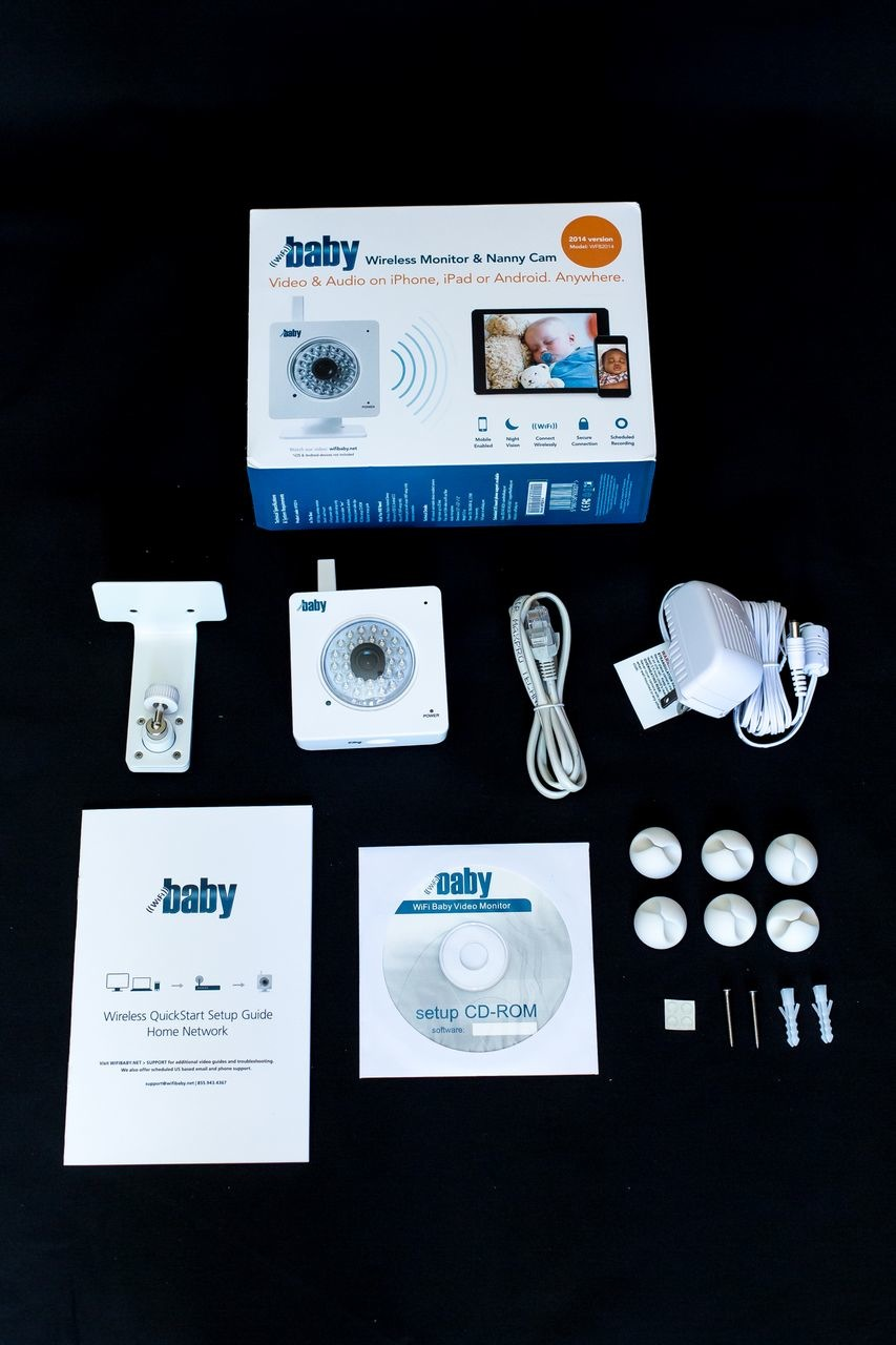 Wifi Baby Iphone Ipad Android Monitor And Nanny Cam