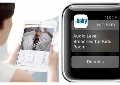 Apple Watch Baby Monitor App