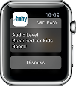 Apple Watch Baby Monitor