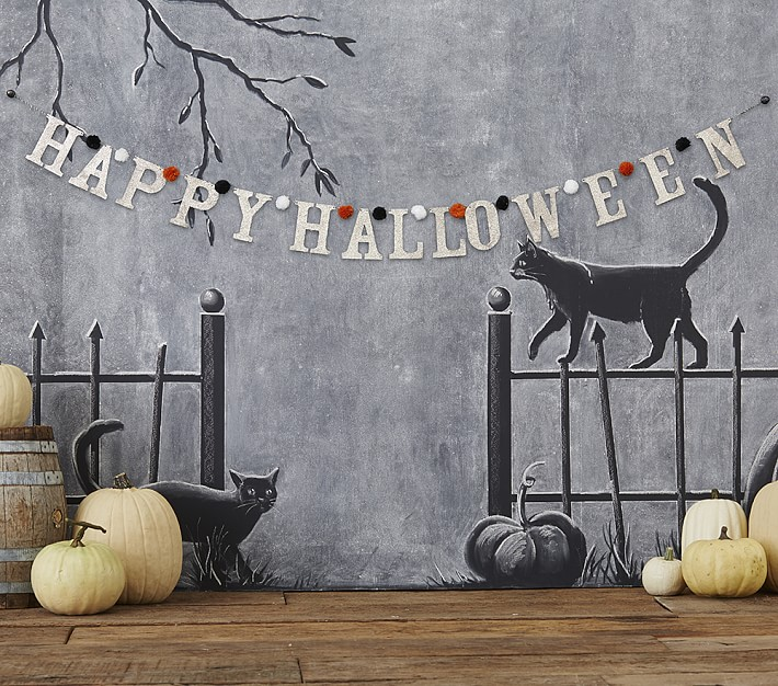 Pottery Barn Kids Halloween Decor Halloween Party Kids Party Garland
